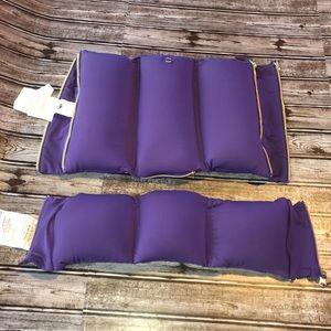 Joy Mangano Flexassage massage pillows purple set